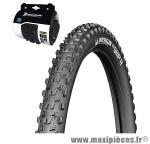 Prix spécial ! Pneu VTT Michelin 29x2,25 pouces WildGrip'R Tubeless Ready noir (ETRTO 57-622)