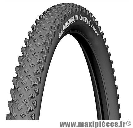 Pneu Michelin Country Race'R 29x2.10 pouces (ETRTO 54-622) noir pour VTT