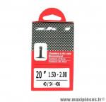 Prix discount ! Chambre à air ZK1 20x1,50 à 2,00 valve Schrader 34mm 140g