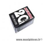 Déstockage ! Chambre à air BMX Kenda 20x1,75 à 2,125 valve Schrader 60mm