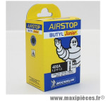 Chambre à air vélo Michelin 16 pouces Michelin Airstop H3 400A Presta 16x1.3-1.5
