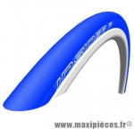Déstockage ! Pneu vélo Schwalbe Insider 700x23C Performance bleu (ETRTO 23-622) HS376