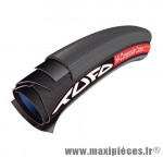 Déstockage ! Boyau vélo Tufo C Hi-Composite Carbon tubular Clincher 700x22C (ETRTO 22-622) noir