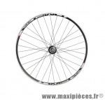 Déstockage ! Roue arrière 700 vélo Fixie MACH1 Omega noire moyeu MICHE Primato flip/flop (pignon fixe et roue libre)