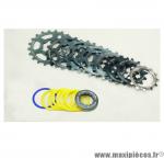Prix discount ! Cassette vintage vert pour vélo 9 vitesses Spécialités TA Khéops 12-21 dents compatible Campagnolo
