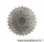 Déstockage ! Cassette pour vélo 9 vitesses Shimano CS-HG50-9 HG 12-23 dents
