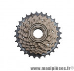 Prix spécial ! Roue libre vélo 6 vitesses Shimano MF-TZ06 14-28 dents bronze/noir