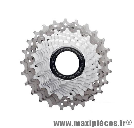 Déstockage ! Cassette pour vélo de route/course 11 vitesses Campagnolo Record 12-27 dents