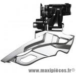 Prix spécial ! Dérailleur VTT avant Shimano Deore FD-M611-B1 10x3 vitesses avec collier haut