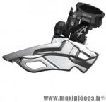 Déstockage ! Dérailleur VTT avant Shimano Deore XT FD-M781-A-B 10x3 vitesses avec collier haut